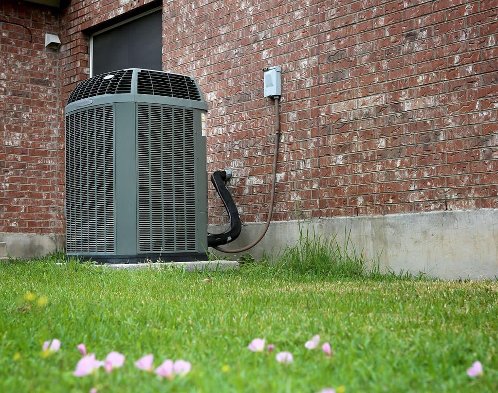 outdoor HVAC unit