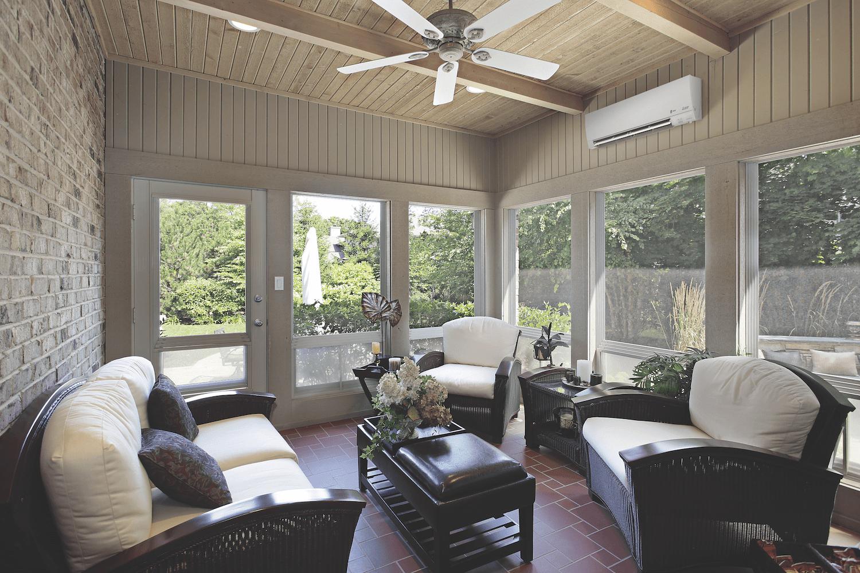 energy efficient sunroom